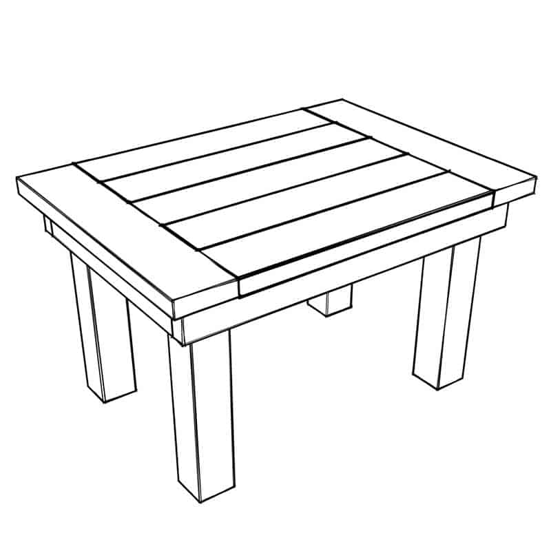 How To Build A Simple Diy Kids Table Thediyplan