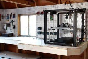 diy shelf for a 3D printer