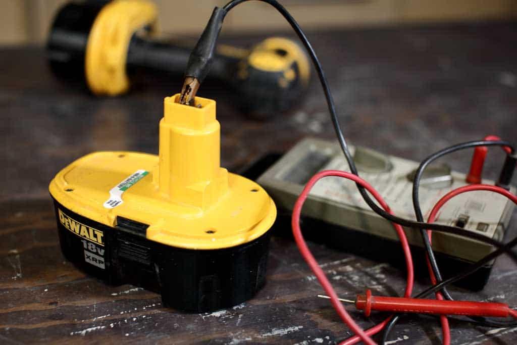 Testing Drill Battery