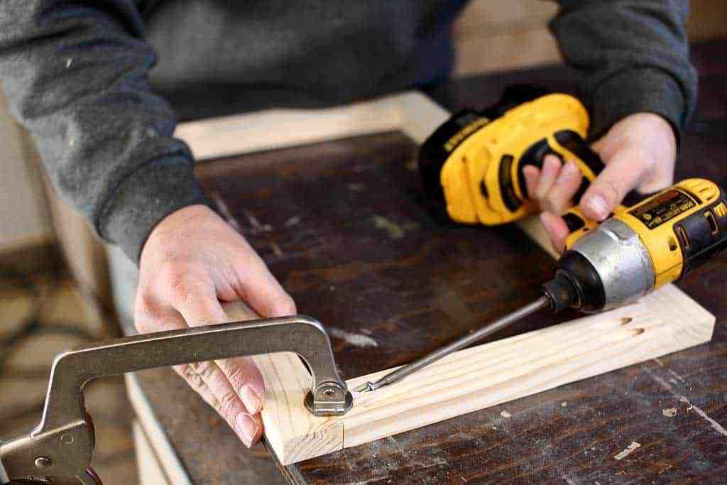 building a door for gradually worn-down