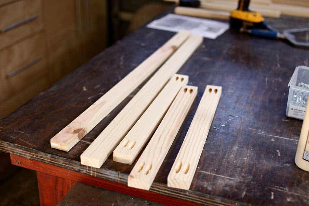boards for floor frame