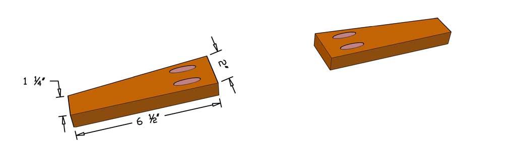 armrest support boards