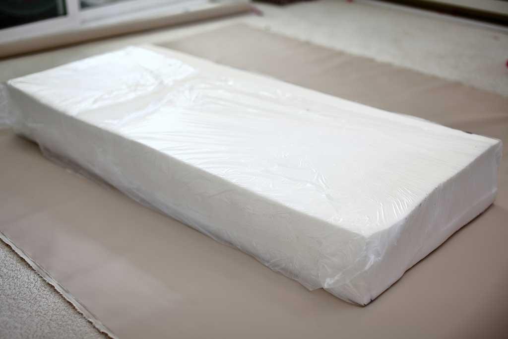 cushion foam for the DIY outdoor sofa with cushions