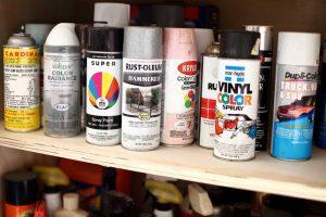paint freezing