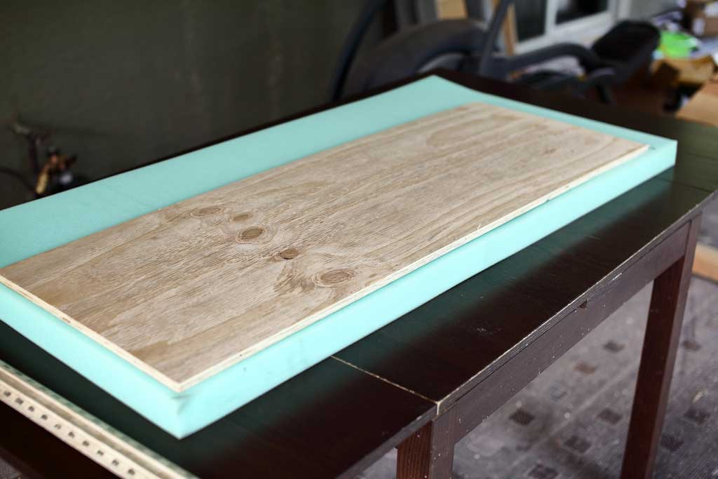 measuring cushion for bench